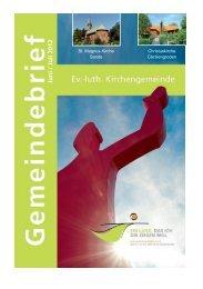 Juni / Juli 2012 - Evangelisch-lutherischen Kirchengemeinde Sande