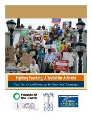 Fighting Fracking A Toolkit for Activists