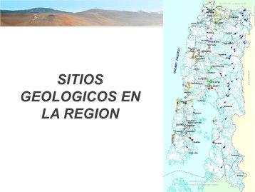 GEOLOGICOS EN LA REGION