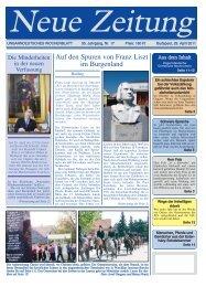 Auf den Spuren von Franz Liszt im Burgenland - Neue Zeitung