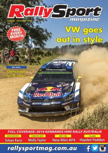 UPDATED: RallySport Magazine December 2016