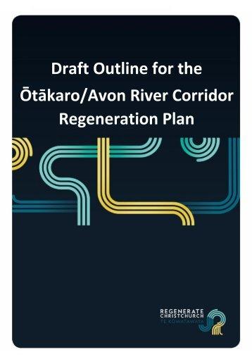 Ōtākaro/Avon River Corridor Regeneration Plan