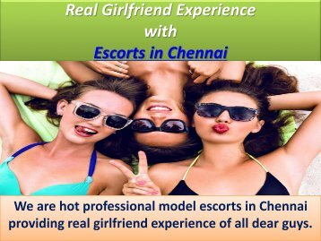 Erotic Fun Escorts in Chennai