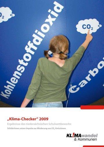 """""""Klima-Checker"""" 2009 - KuK Klimawandel und Kommunen"""