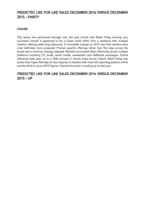(1 December to 16 December 2016) THE HEADLINES