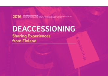 DEACCESSIONING