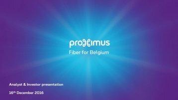 Fiber for Belgium
