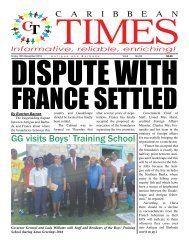 Caribbean Times 58th Issue - Friday 16th December 2016