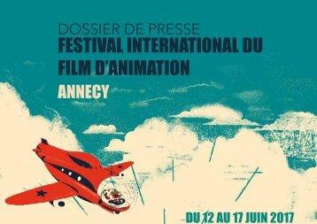 Dossier de presse FICTIF - Festival d'Annecy