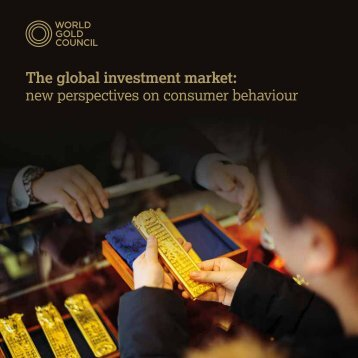 The global investment market new perspectives on consumer behaviour