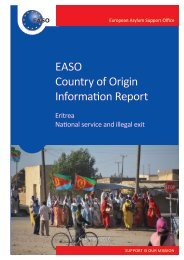 EASO Country of Origin Information Report