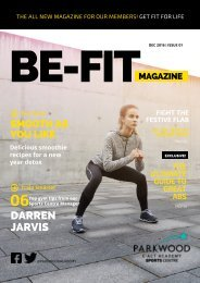 BE-FIT Magazine Issue 1 A4