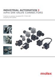Katalog mPm konektorů