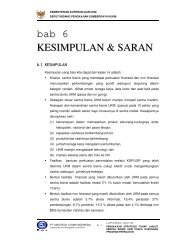 bab 6 KESIMPULAN & SARAN - Smecda