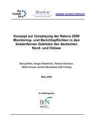Konzept zur Umsetzung der Natura 2000 Monitoring