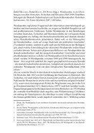 hungen zwischen Deutschen, Tschechen und Slowaken - brücken ...
