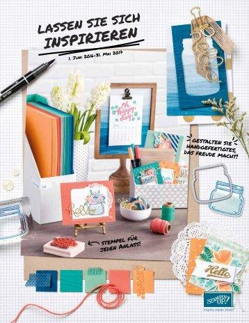 Stampin Up Katalog 2016/2017