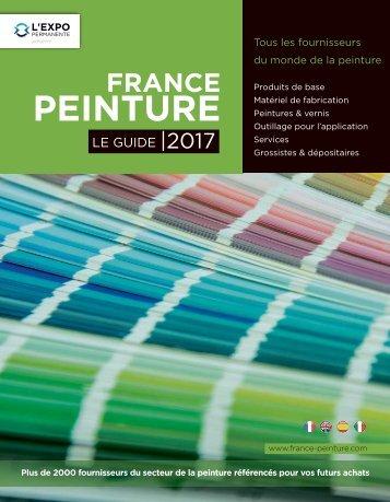 Guide France Peinture 2017