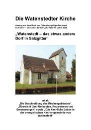 Die Watenstedter Kirche