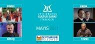 Mayıs 2011 Broşürü - Zeytinburnu Kültür ve Sanat Merkezi