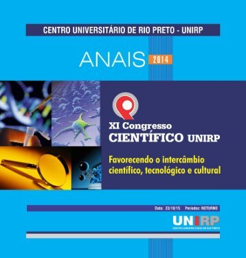 Anais de Congresso Cientifico 2014 - Unirp