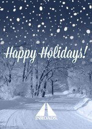 INROADS Holiday Card