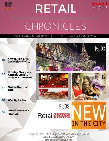 RetailChronicle Issue9 (16-31 December 2016)