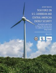 TASK FORCE ON U.S CARIBBEAN AND CENTRAL AMERICAN ENERGY SECURITY