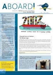 SSSnieuwsbrief23 en def corr.indd - Shortsea Shipping Vlaanderen