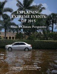 EXPLAINING EXTREME EVENTS OF 2015