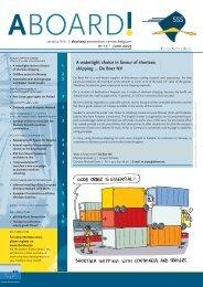 aboard! - Shortsea Shipping Vlaanderen