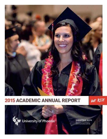 2015 ACADEMIC ANNUAL REPORT