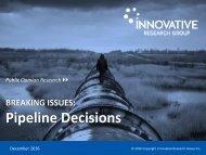 Pipeline Decisions
