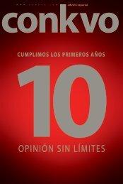 Conkvo Revista 10 años