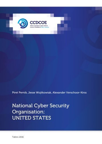 National Cyber Security Organisation UNITED STATES
