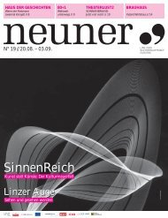 Neuner, Ausgabe 19: 20. August - Linz