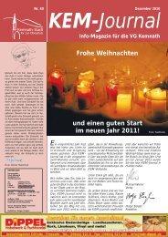 Ausgabe 12/2010 - Stadt Kemnath
