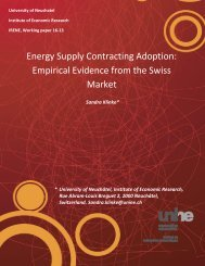 Energy Supply Contracting Adoption Empirical Evidence from the Swiss Market
