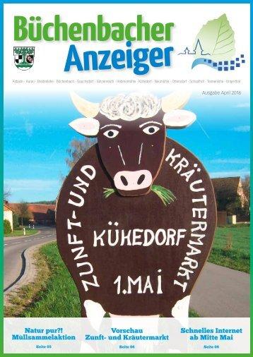 April 2016 - Büchenbacher Anzeiger