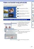 Sony DSC-W190 - DSC-W190 Istruzioni per l'uso Croato - Page 2