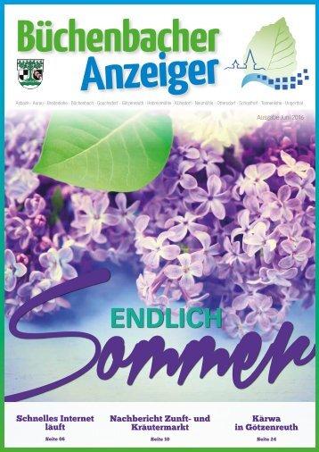 Juni 2016 - Büchenbacher Anzeiger