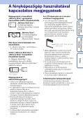 Sony DSC-W190 - DSC-W190 Istruzioni per l'uso Ungherese - Page 3