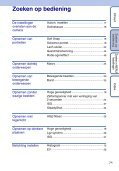 Sony DSC-W190 - DSC-W190 Istruzioni per l'uso Olandese - Page 7