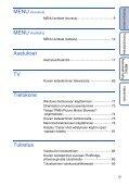 Sony DSC-W190 - DSC-W190 Istruzioni per l'uso Finlandese - Page 5
