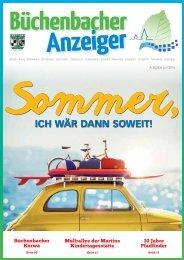 Juli 2016 - Büchenbacher Anzeiger