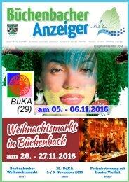 November 2016 - Büchenbacher Anzeiger