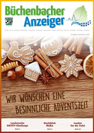 Dezember 2016 - Büchenbacher Anzeiger