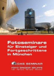 Fotoseminare Foto Gregor München GmbH