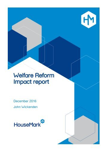 Welfare Reform Impact report