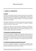 RECOMANACIONS Recomanacions sobre la cobertura informativa d'actes terroristes - Page 5